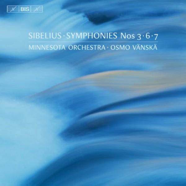 Sibelius - Symphonies 3, 6 & 7