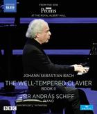 JS Bach - The Well-Tempered Clavier Book 2 (Blu-ray)