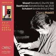 Clara Haskil - Live at the Salzburg Festival 1957 | Orfeo - Orfeo d'Or C706061