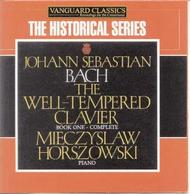 JS Bach - The Well-Tempered Clavier Book One | Vanguard ATMCD1961