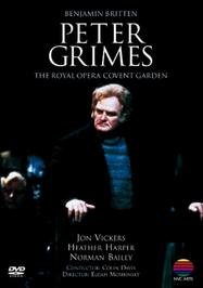 Peter Grimes - The Royal Opera House | Warner - NVC Arts 0630169132