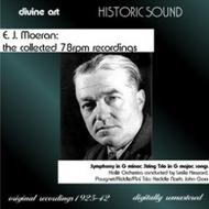 Moeran - The Collected 78rpm Recordings (rec.1925-42) | Divine Art DDH27808