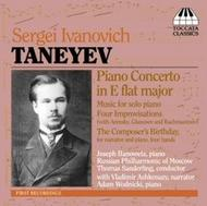 Taneyev - Piano Concerto, Four Improvisations, The Composer's Birthday | Toccata Classics TOCC0042