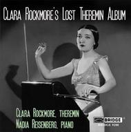 Clara Rockmore's Lost Theremin Album | Bridge BRIDGE9208