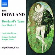 Dowland's Tears - Lute Music Volume 2 | Naxos 8557862