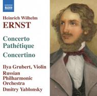Heinrich Wilhelm Ernst - Music for Violin and Orchestra | Naxos 8557565