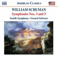 William Schuman - Symphony No 3, Symphony No 5 for Strings, Judith - Choreographic Poem for Orchestra | Naxos - American Classics 8559317
