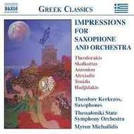 Greek Classics - Impressions for Saxophone and Orchestra