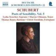 Schubert - Lied Edition 22 - Poets of Sensibility, vol. 5
