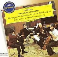 Brahms: Piano Quartet No.1, Op.25 | Deutsche Grammophon - Originals 4474072