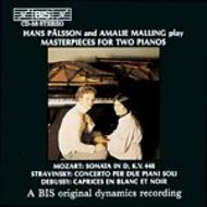 Masterpieces for Two Pianos | BIS BISCD058