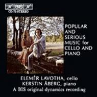 Popular and Serious Music for Cello and Piano | BIS BISCD072