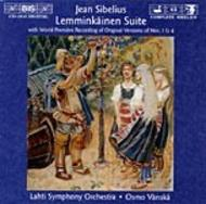 Sibelius - Lemminkainen Suite (various versions) | BIS BISCD1015