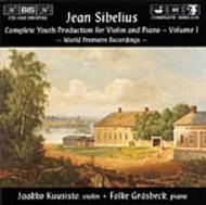 Sibelius – Complete Youth Production for Violin and Piano Volume 1 | BIS BISCD1022
