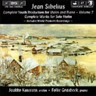 Sibelius – Complete Youth Production for Violin and Piano Volume 2 | BIS BISCD1023