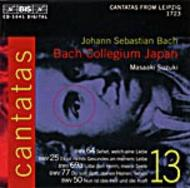 Bach - Cantatas Volume 13 (BWV 64, 25, 69a and 50) | BIS BISCD1041