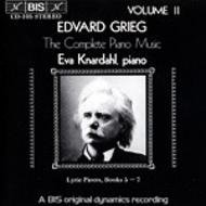 Grieg - Complete Piano Music volume 2 | BIS BISCD105