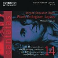 J. S Bach – Cantatas Volume 14 (BWV 148, 48, 89, 109) | BIS BISCD1081