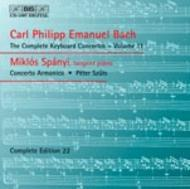 C.P.E. Bach Complete Keyboard Concertos – Volume 11 | BIS BISCD1097