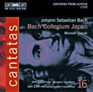 J. S Bach – Cantatas Volume 16 (BWV 194, 119) | BIS BISCD1131