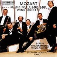 Mozart -  Music for Piano & Wind Quintet | BIS BISCD1132