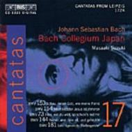 J. S Bach – Cantatas Volume 17 (BWV 153, 154, 73, 144, 181) | BIS BISCD1221
