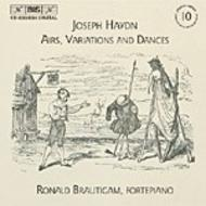 Haydn – Airs, Variations and Dances | BIS BISCD132324