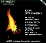Stravinsky - Works for Piano 4 Hands | BIS BISCD188