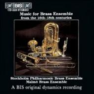 Music for Brass Ensemble from the 16th - 18th Centuries | BIS BISCD223