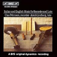 Italian and English Music for Recorder and Lute | BIS BISCD266