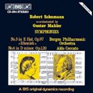 Schumann – Symphonies No 3 and 4, re-orchestrated by Gustav Mahler | BIS BISCD394