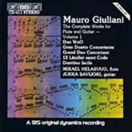Giuliani – Complete Works for Flute and Guitar – Volume 1 | BIS BISCD411