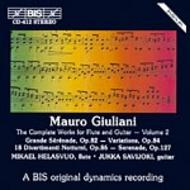 Giuliani – Complete Works for Flute and Guitar – Volume 2 | BIS BISCD412