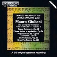 Giuliani – Complete Works for Flute and Guitar – Volume 3 | BIS BISCD413