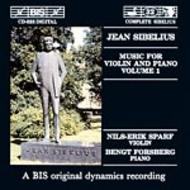 Sibelius – Music for Violin and Piano – Volume 1 | BIS BISCD525