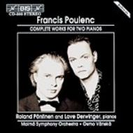 Poulenc – Complete Works for Two Pianos | BIS BISCD593