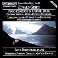 Grieg - Piano Concerto, Larviks-Polka, Small Piano Pieces | BIS BISCD619
