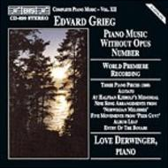 Grieg – Piano Music Without Opus Number | BIS BISCD620
