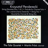 Penderecki - Works for String Quartet | BIS BISCD652