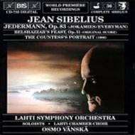 Sibelius - Jedermann, Belshazzar's Feast, Countess's Portrait | BIS BISCD735