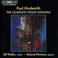Hindemith – The Complete Violin Sonatas | BIS BISCD761