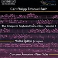 C.P. E. Bach Complete Keyboard Concertos – Volume 5 | BIS BISCD785