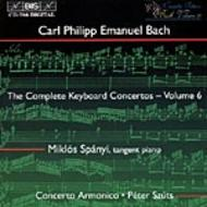 C.P. E. Bach Complete Keyboard Concertos – Volume 6 | BIS BISCD786