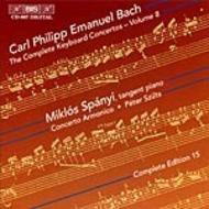 C.P. E. Bach Complete Keyboard Concertos – Volume 8 | BIS BISCD867