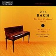 C. P. E. Bach – Solo Keyboard Music – Volume 1 | BIS BISCD878