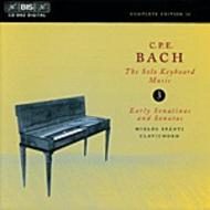 C. P. E. Bach – Solo Keyboard Music – Volume 3 | BIS BISCD882