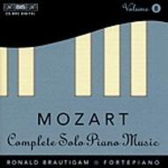 Mozart – Complete Solo Piano Music – Volume 8 | BIS BISCD895