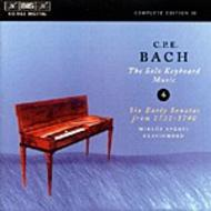 C. P. E. Bach - Solo Keyboard Music – Volume 4 | BIS BISCD963