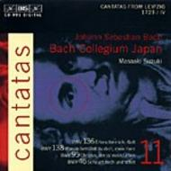 J. S. Bach – Cantatas, Volume 11 (BWV 136, 138, 95, 46) | BIS BISCD991