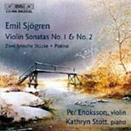 Sjogren - Works for Violin and Piano | BIS BISCD995